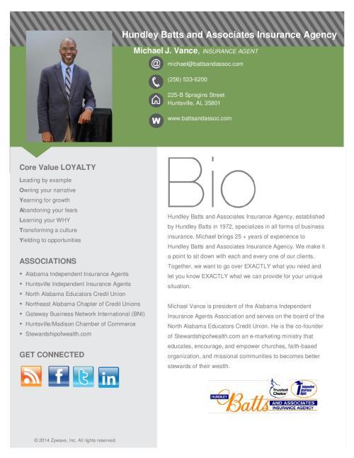 Michael J. Vance - Bio Introduction -page-001